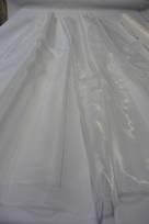 seta pura colore avorio bianco tessuti con inserti raso