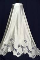 Tessuti per Abiti da Sposa in seta raso di poliestere Tulle