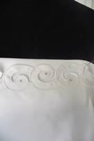 inserti organza avorio tessuti con perle paiettes e perline
