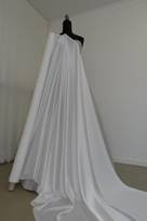 tessuto crepe in crepes di seta poliestere per abiti vestiti