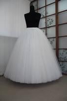 sottogonne abito da sposa realizzate a mano artigianali